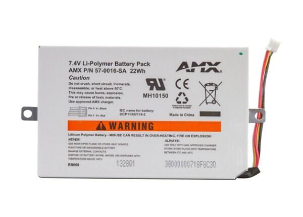 AMX MVP-BP-5X battery - Li-pol