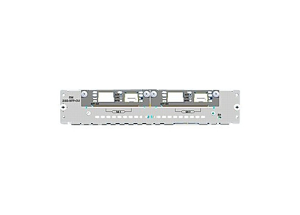 Cisco SM-2GE-SFP-CU - expansion module - 2 ports