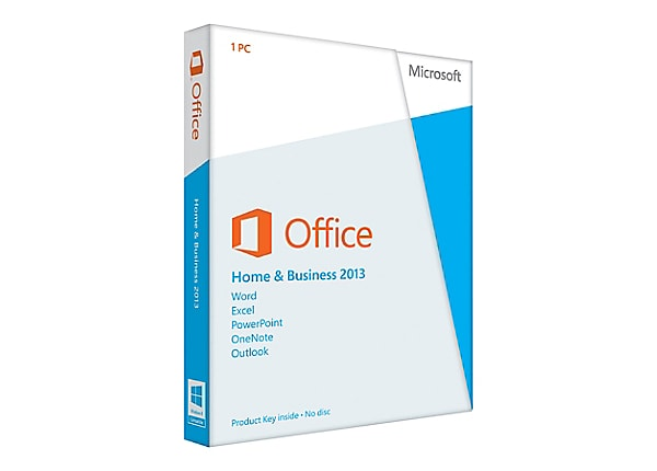 Microsoft Office Home and Business 2013 - box pack - 1 PC