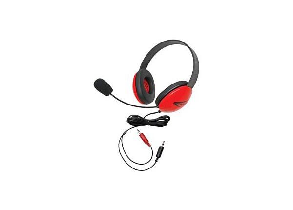 Califone Listening First Stereo Headset 2800RD-AV - headset