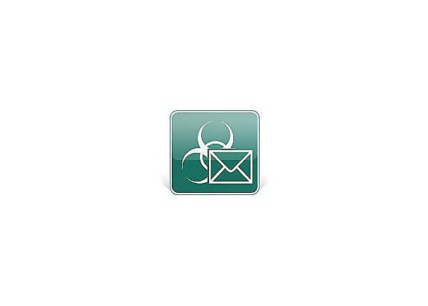 Kaspersky Security for Mail Server - subscription license (1 year) - 1 addi