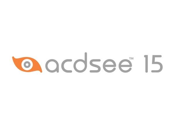 ACDSee (v. 15) - license - 1 seat