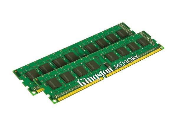 Kingston ValueRAM - DDR3 - 8 GB: 2 x 4 GB - DIMM 240-pin - unbuffered
