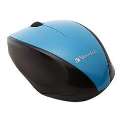 Verbatim Wireless Multi-Trac Blue LED - mouse - blue