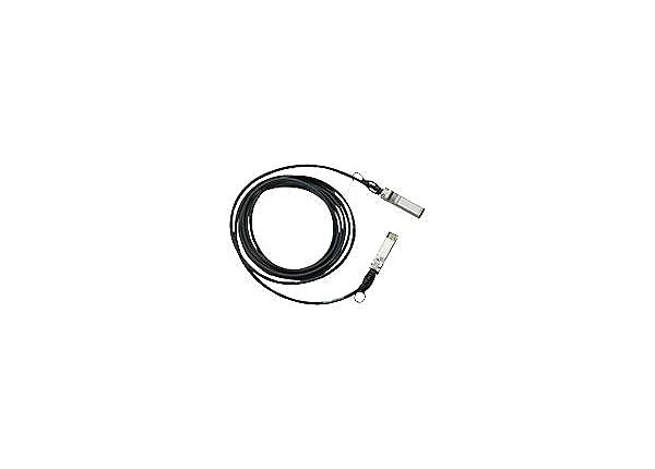 Cisco SFP+ Copper Twinax Cable - câble à attache directe - 1.5 m - noir