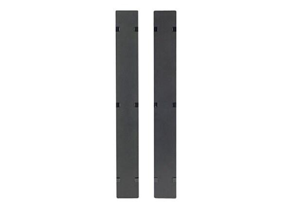 APC rack cable management panel cover - 42U