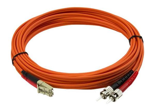 StarTech.com 5m Fiber Optic Cable - Multimode Duplex 50/125 - LSZH - LC/ST