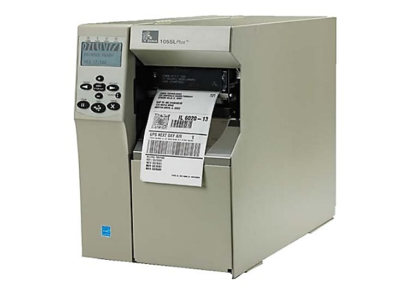 Zebra S Series 105SLPLUS - label printer - monochrome - direct thermal / th