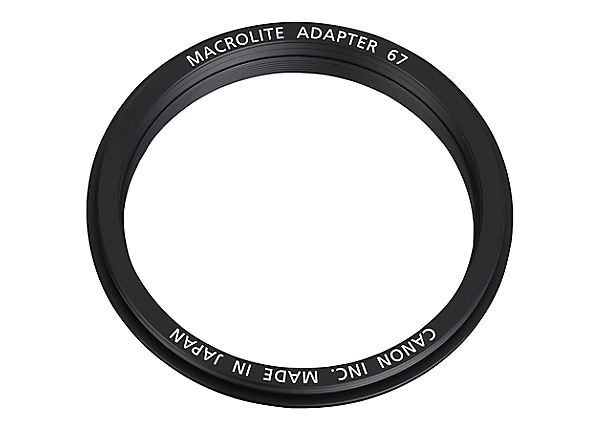 Canon Macrolite 67C - macro flash adapter ring
