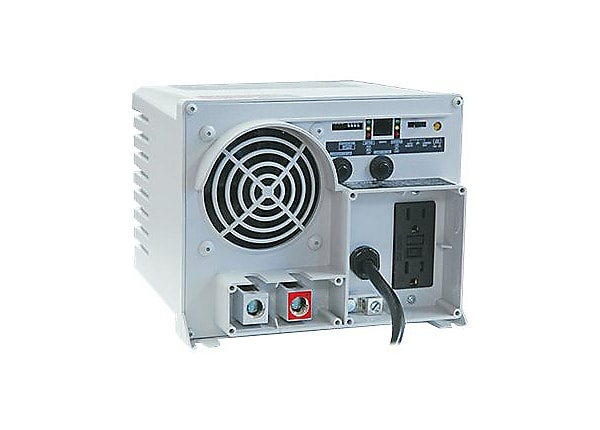 Tripp Lite Utility Inverter Charger 1250W 12VDC to 120VAC GFCI 2 Outlet