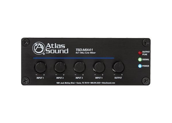 Atlas Mixer Amplifier 4 Input