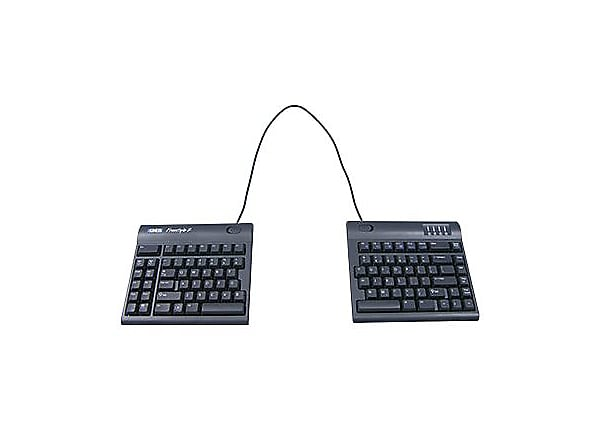 Kinesis Freestyle2 for PC - clavier - US - noir