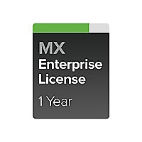 Cisco Meraki MX50 Enterprise Edition - subscription license (1 year) - 1 li