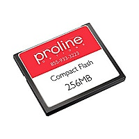 Proline - flash memory card - 256 MB - CompactFlash