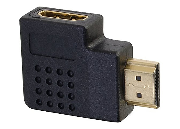 C2G Right Angled HDMI Adapter - Right Exit - HDMI right angle adapter