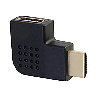C2G Right Angle HDMI Adapter - Left Exit - HDMI right angle adapter