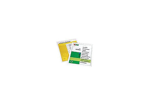 Fellowes Laminating Pouches - 50-pack - glossy -  - lamination pouches