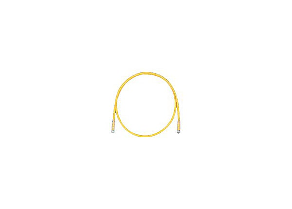 Panduit TX6 PLUS patch cable - 5 ft - yellow