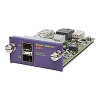 Extreme Networks XGM3S-2sf - expansion module - 2 ports