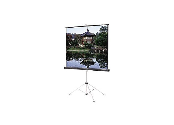Da-Lite Carpeted Picture King projection screen with tripod - 84 in (83.9 i