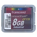 Transcend Industrial - flash memory card - 8 GB - CompactFlash