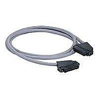 Panduit Data-Patch 10/100 Base-T Cable Assembly - patch cable - 8 ft - gray