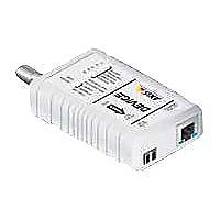AXIS T8642 Ethernet Over Coax Device Unit PoE+ - media converter - 10Mb LAN