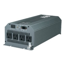 Tripp Lite Compact Inverter 1800W 12V DC to 120V AC 4 Outlets 5-15R - DC to