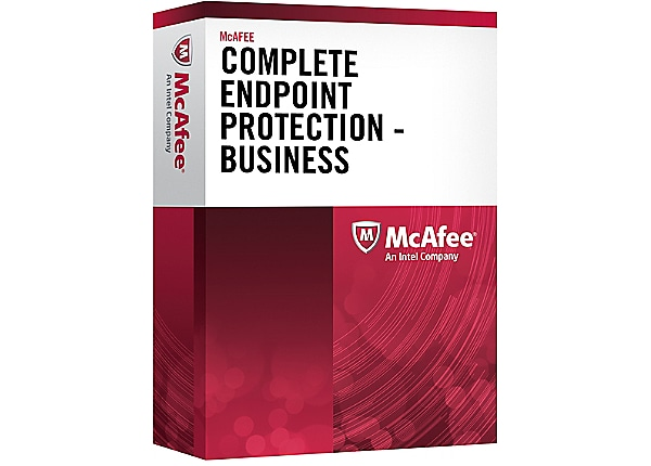 McAfee Complete EndPoint Protection Business - license + 1 Year Gold Busine