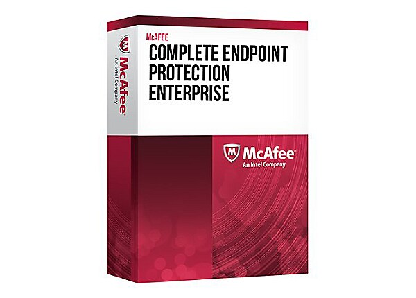 McAfee Complete EndPoint Protection Enterprise - upgrade license + 1 Year G
