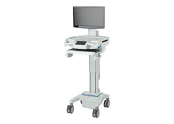 Capsa Healthcare CareLink Fully-Featured Mobile Nurse Station - cart