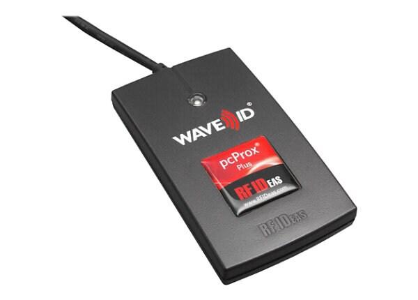 RF IDeas pcProx Plus Enroll - RF proximity reader - USB, RS-232