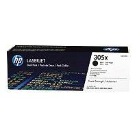 HP 305X Black High Yield Toner Cartridge