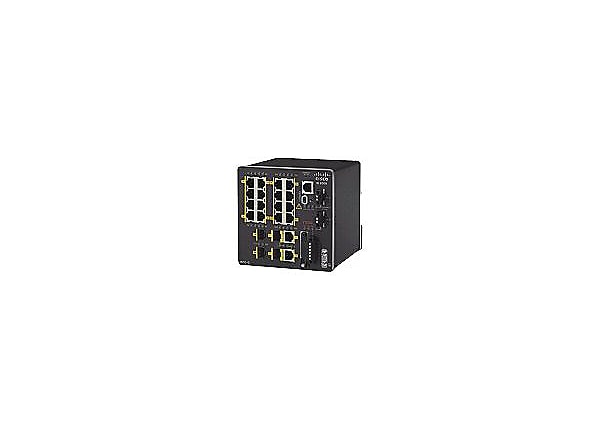 Cisco Industrial Ethernet 2000 Series - switch - 20 ports - managed