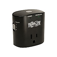 Tripp Lite Surge Protector Wallmount Direct Plug In 1 Outlet with Timer