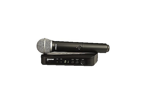 Shure BLX24/PG58 Handheld Wireless System - wireless microphone system