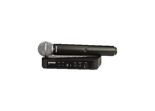 shure blx24 sm58 handheld wireless system wireless microphone system blx24 sm58 j10. Black Bedroom Furniture Sets. Home Design Ideas