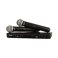 Shure BLX288/PG58 Dual Channel Handheld Wireless System - wireless micropho