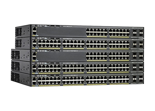 Cisco Catalyst 2960X-48LPD-L 48-Port Gigabit Ethernet Switch