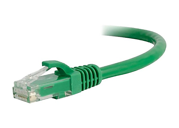 C2G 30ft Cat5e Snagless Unshielded (UTP) Network Patch Ethernet Cable Green