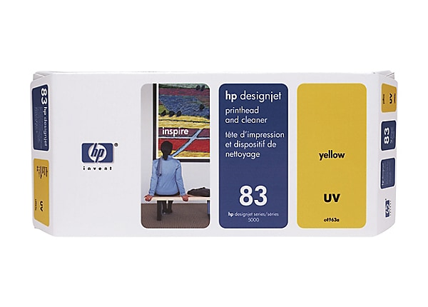 HP 83 Yellow UV Printhead/Cleaner (C4963A)