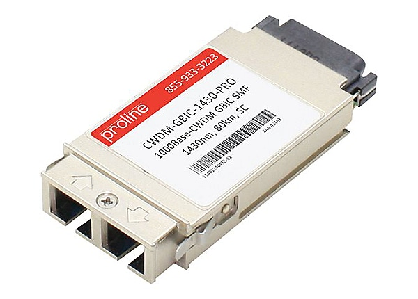 Proline Cisco Compatible CWDM GBIC TAA Compliant Transceiver - GBIC transce