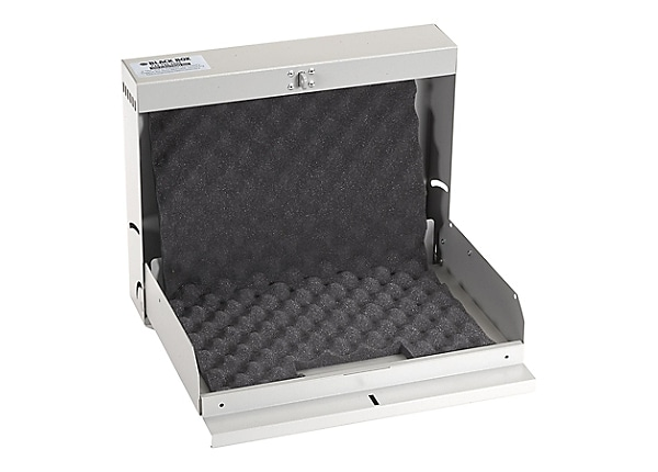 Black Box Laptop Locker with Hasp Lock - notebook security cabinet
