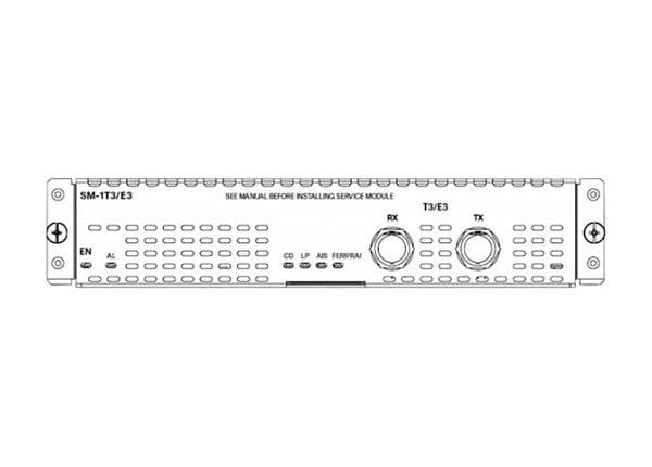 Cisco SM-X-1T3/E3 Enhanced Service Module - expansion module
