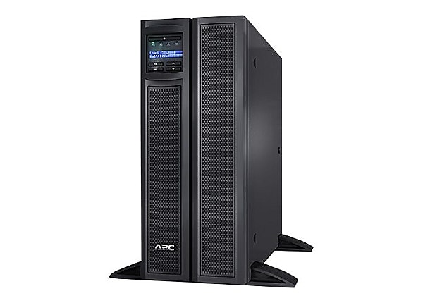 Portable Network Racks With Ups : Apc smart ups va rack tower lcd with network