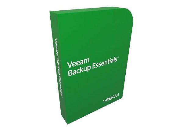 Veeam Backup Essentials Standard for VMware - license + 1 Year Maintenance