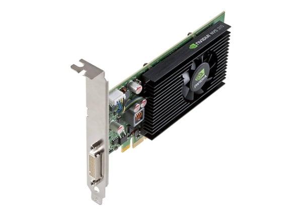 NVIDIA NVS 315 - graphics card - Quadro NVS 315 - 1 GB