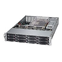 Supermicro SuperStorage Server 6027R-E1R12T - rack-mountable - no CPU - 0 M