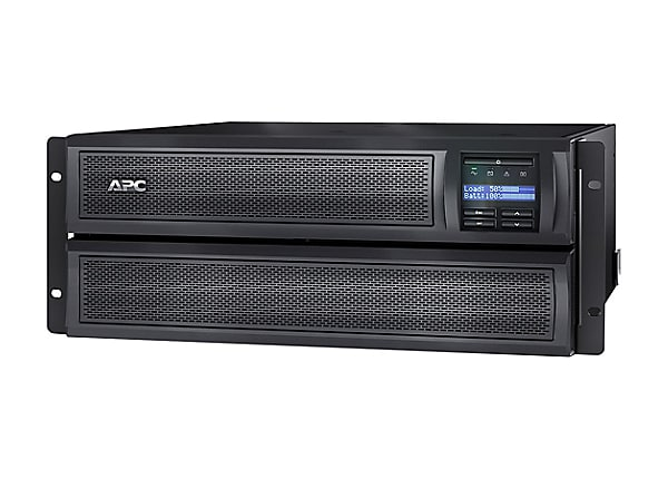APC Smart-UPS X 3000VA Short Depth Tower/Rack LCD - UPS - 2700 Watt - 3000
