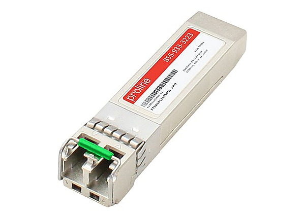 Proline Finisar FTLX1812M3BCL Compatible SFP+ TAA Compliant Transceiver - S